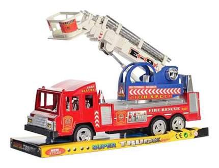 Инерционная пожарная машинка Shenzhen toys с лестницей super truck 300-7