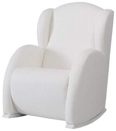 Кресло-качалка Micuna (Микуна) Wing/Flor Relax white/white искусственная кожа