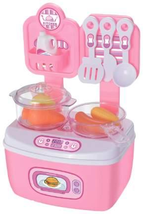 Игровой набор Город Игр Большая кухня GI-6746 11 предметов, цвет розовый