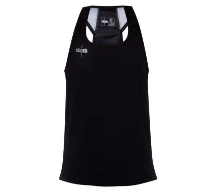 Майка для единоборств Clinch Clinch Olimp черная, XS, 165 см