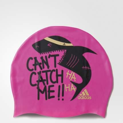 Шапочка для плавания Adidas Graphic Cap Y shopin/black/magold