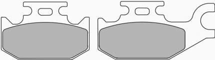 Тормозные колодки передние/задние Ferodo FDB2148SG для мотоциклов