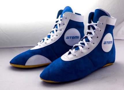 Борцовки Atemi ASSS01, синие, 33
