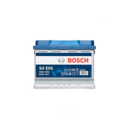 Аккумуляторная Батарея S4 Efb [12v 60ah 640a B13] Bosch