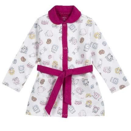 Халат Chicco для девочек, размер 116, цвет бежевый