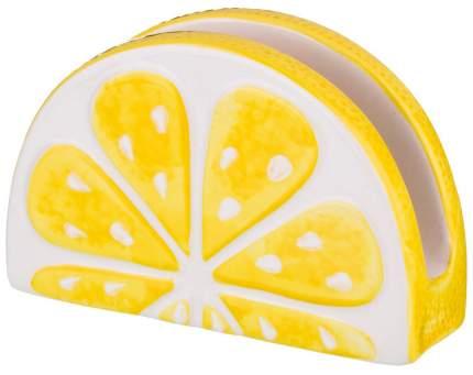Салфетница Lefard Лимон 585-075 Белый, желтый
