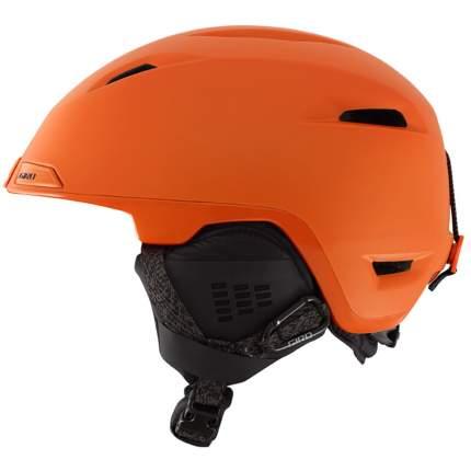 Горнолыжный шлем мужской Giro Edit 2017, оранжевый, M