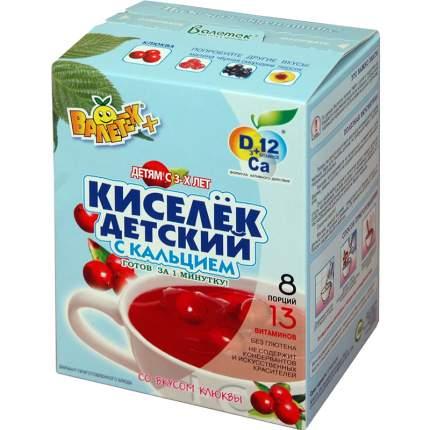 Кисель Валетек детский со вкусом клюквы 200 г