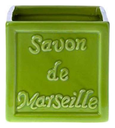 Стакан для зубных щеток Savon De Marseille Зеленый