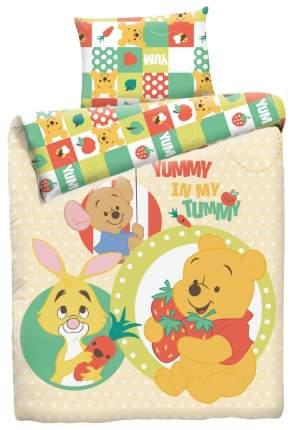 Комплект детского постельного белья MONA LIZA Винни с Ягодой