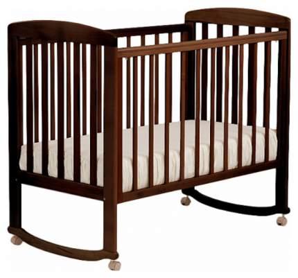 Детская кровать Лель Ромашка АБ 16.0, Темный орех
