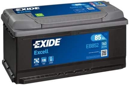 Аккумулятор автомобильный EXIDE EB852 85 Ач