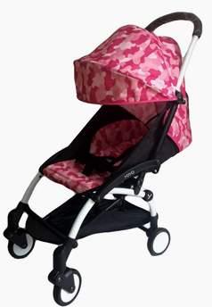 Прогулочная коляска Yoya 175 розовый камуфляж