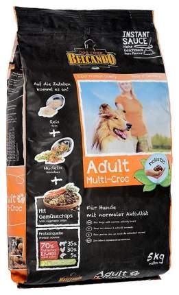 Сухой корм для собак BELCANDO Adult Multi-Croc, птица, рис, 5кг