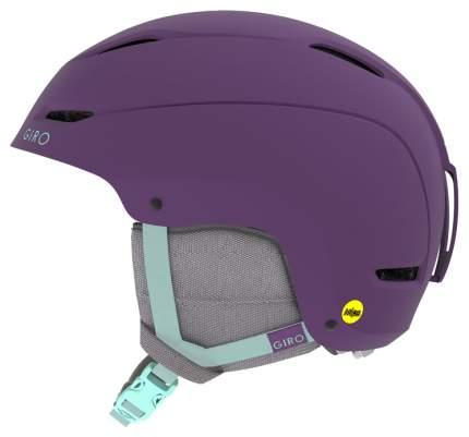 Горнолыжный шлем женский Giro Ceva 2019, фиолетовый, M