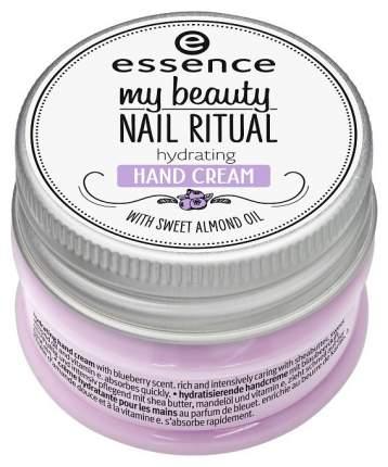 Крем для рук Essence My Beauty Nail Ritual Hydrating 25 мл