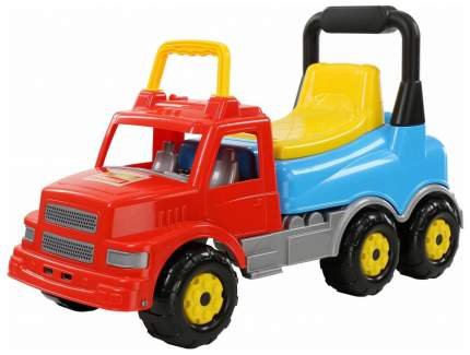 Каталка детская Wader машина Буран №2 красно-голубая