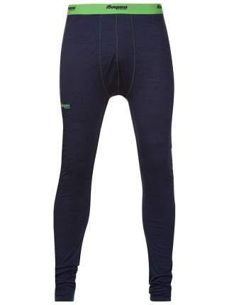 Кальсоны Bergans Soleie Tights 2018 мужские синие/зеленые, S