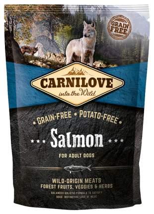 Сухой корм для собак Carnilove For Adult Dogs, лосось, 1,5кг