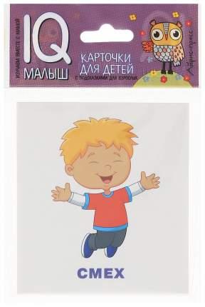 Набор карточек Айрис-Пресс Iq Малыш Умный Малыш. Эмоции