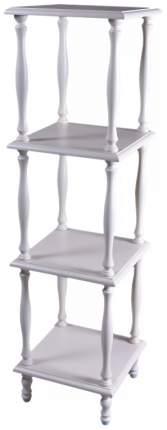 Этажерка Мебелик П 8 2090 34х34х123 см, слоновая кость