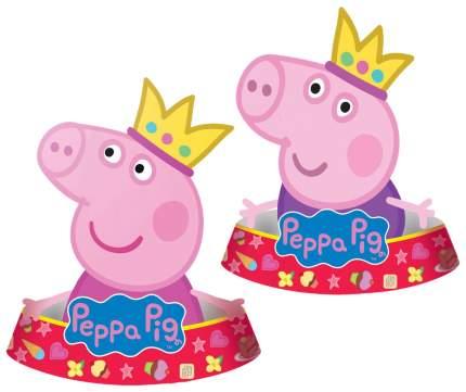 Бумажный колпак Europa Uno Trade Свинка Пеппа 6 шт.