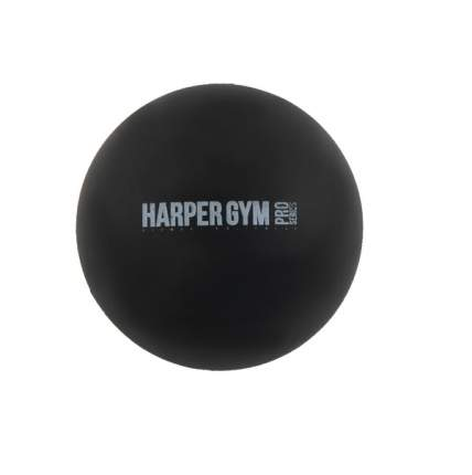 Гимнастический мяч Harper Gym NT914R черный 6,4 см