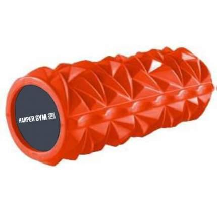 Ролик для йоги и пилатеса Harper Gym NT718L, оранжевый