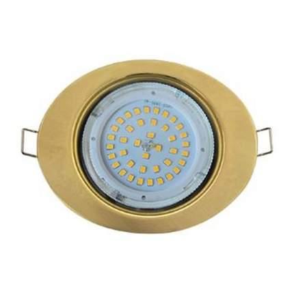 Ecola Gx53-Ft3238 Светильник Встраиваемый Без Рефл, Эллипс Золото 41X126Х106 Fg53Elecb