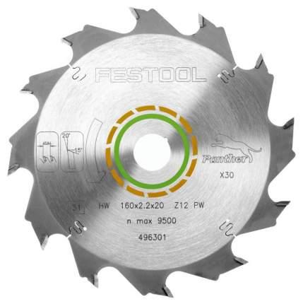 Диск пильный FESTOOL PW12 496301