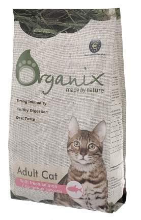 Сухой корм для кошек Organix Adult Cat, для чувствительного пищеварения, лосось, 7,5кг