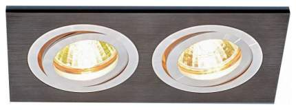Встраиваемый светильник Elektrostandard 1051/2 BK Черный a035242