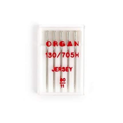 """Иглы """"Organ"""" джерси №80 для БШМ упак,5 игл"""