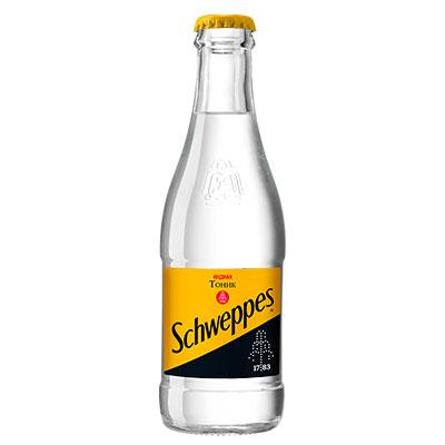 Тоник Schweppes индиан стекло 0.25 л