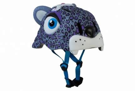 Шлем детский Crazy Safety Purple Leopard 2017 сиреневый