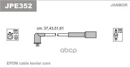 Комплект проводов зажигания JANMOR JPE352