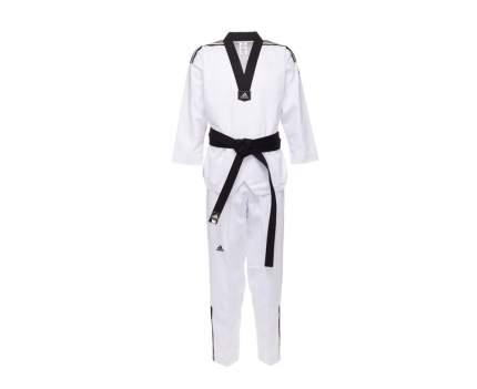 Добок Adidas WTF Adi-Club 3, white/black, 160