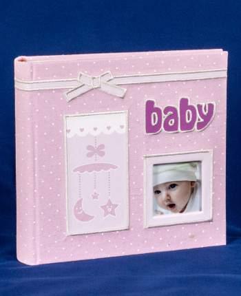 Фотоальбом детский с кармашками на 200 фото 10х15 см, тканевая обложка, подарочный кейс