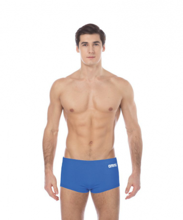 Шорты для плавания мужские Arena Solid Squared Short, royal/white, 85 FR