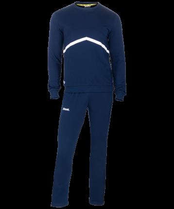 Спортивный костюм Jogel JCS-4201-091, темно-синий/белый, M INT