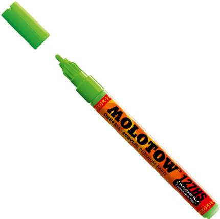 Маркер акриловый Molotow 127HS One4all 2мм зеленый