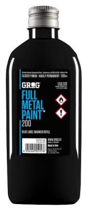 Заправки для маркеров Grog Full Metal Paint Death Black 200 мл