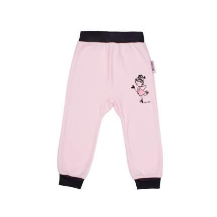 Комплект брюк 2 шт Lucky Child Розовый р.74