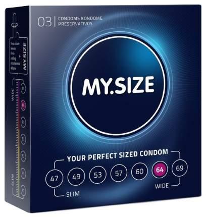 Презервативы My.Size р. 64 3 шт.