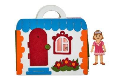 Сумка-игралка Кукольный домик Smile Decor Ф259
