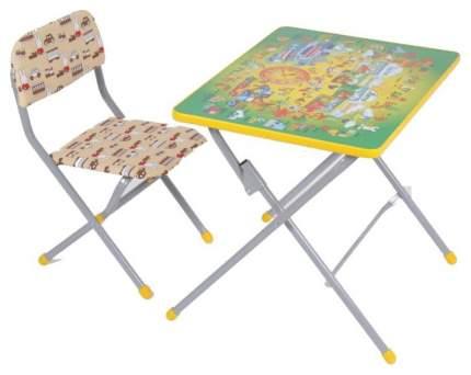 Комплект детской мебели Фея Досуг 201 Алфавит Зеленый