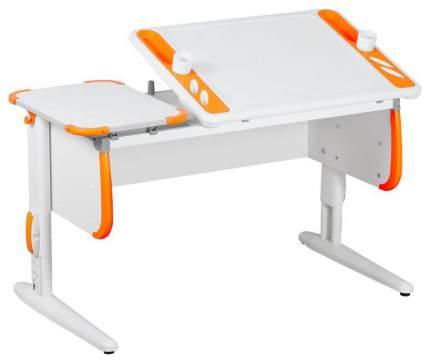 Парта Дэми Techno СУТ 31 04937-2 Белый/Оранжевый