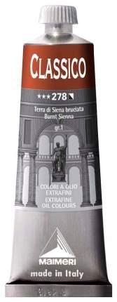 Масляная краска Maimeri Classico земля сиены жженая 60 мл