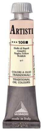Масляная краска Maimeri Artisti M0102106 неаполитанский желто-красный 20 мл