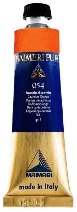 Масляная краска Maimeri Puro 054 кадмий оранжевый 40 мл